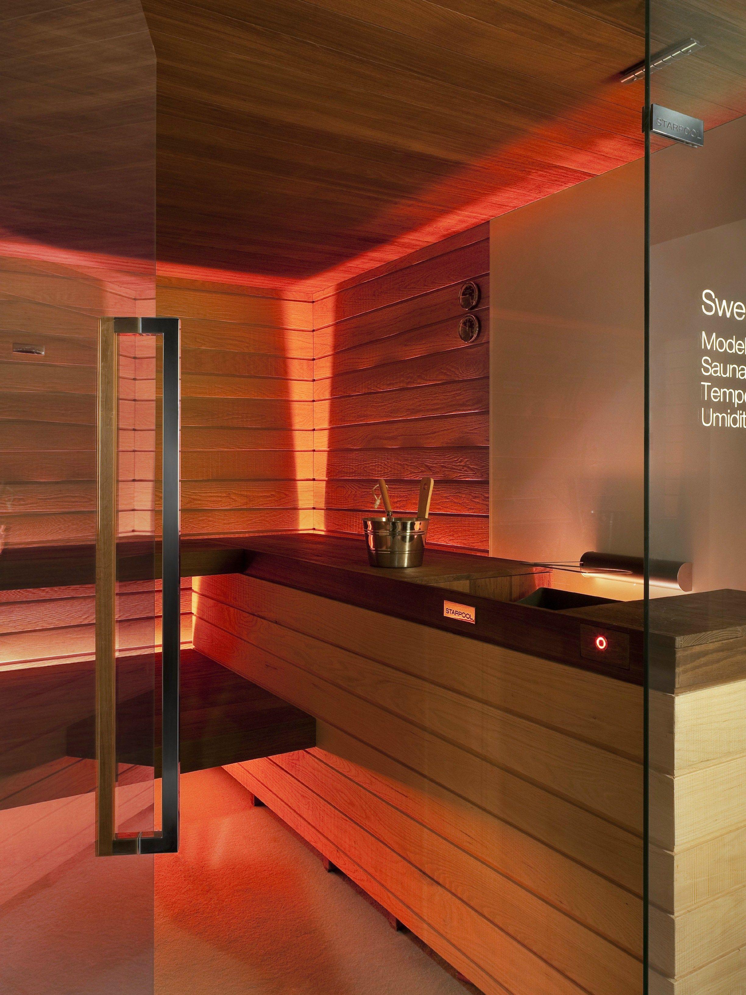 Ducha Con Baño Turco:Baño turco para cromoterapia con ducha SWEET SAUNA PRO VISION by