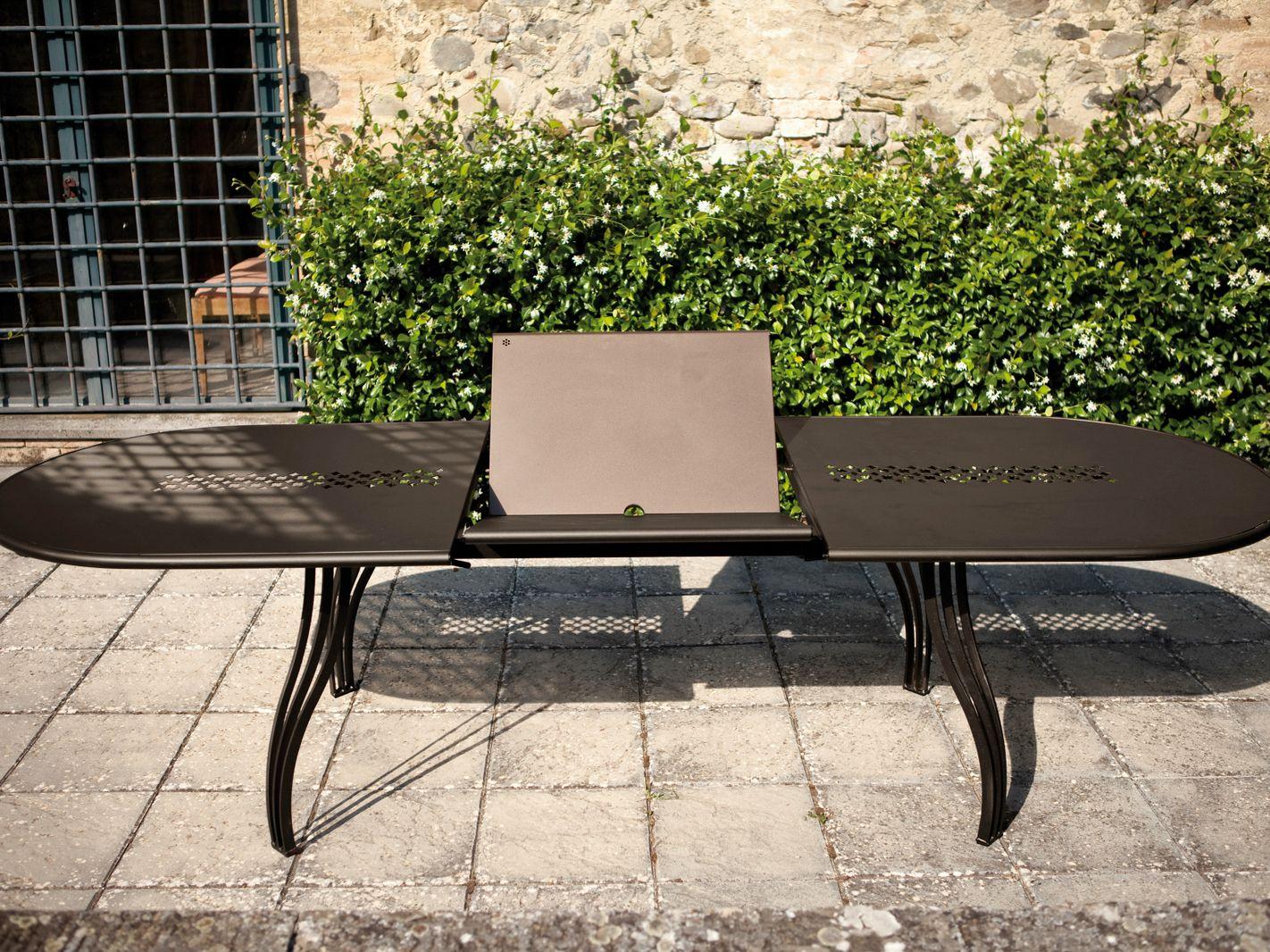 Vera table de jardin ovale by emu group design chiaramonte marin - Table jardin emu rennes ...