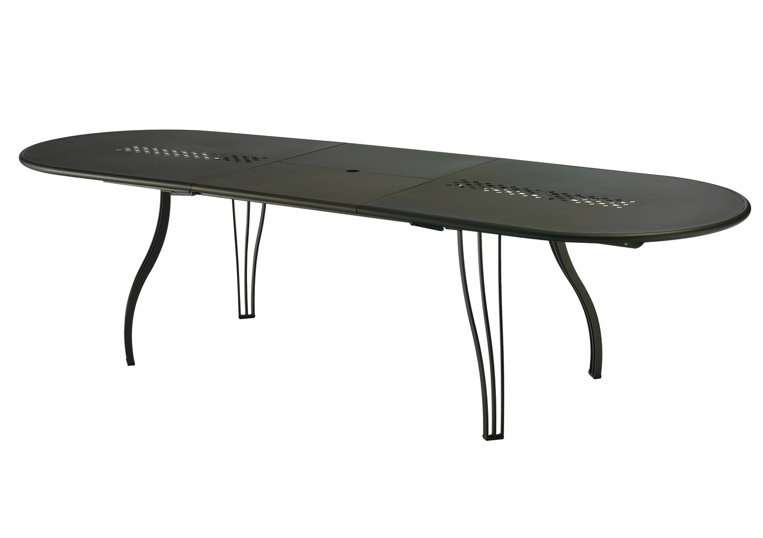 Beautiful table de jardin ovale extensible ideas amazing for Table extensible resine