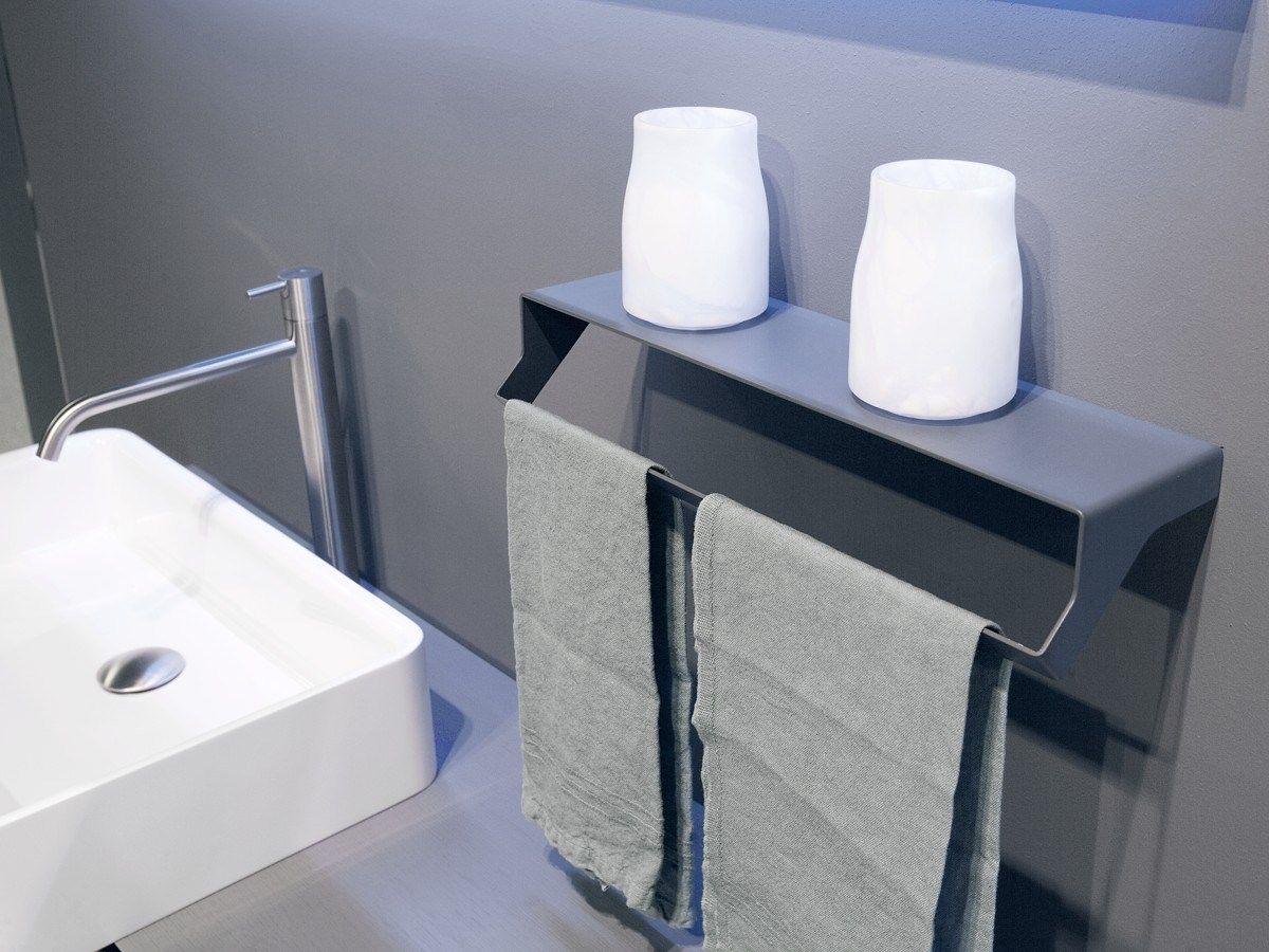 Estantes De Acero Para Baño:Toallero / estante para cuarto de baños de acero inoxidable QGINI