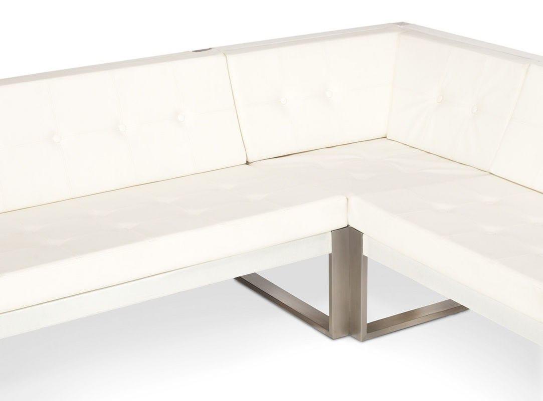 Modular lounge modular sofa by fueradentro design hendrik for Sofa exterior esquina