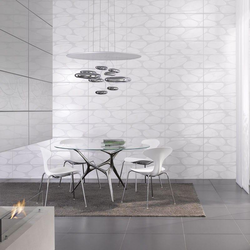 tavolo rotondo in acciaio inox e vetro e-volved by fueradentro ... - Tavolo Rotondo Moderno Design