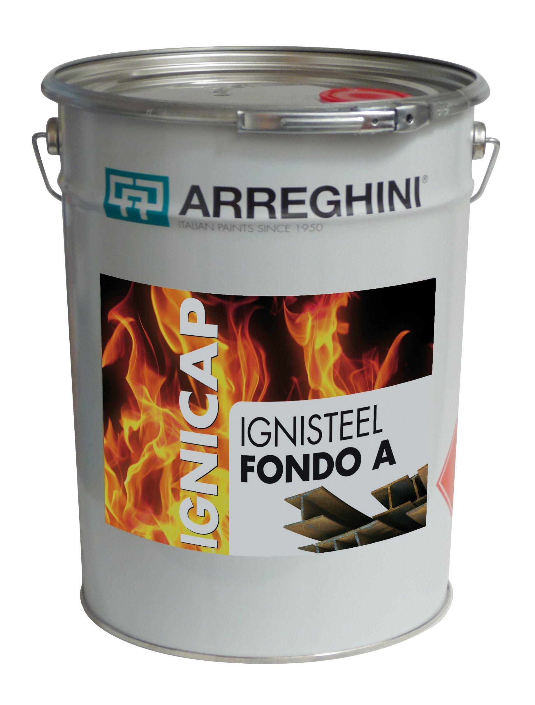 Fire Resistant Paint : Ignisteel fire retardant paint by cap arreghini