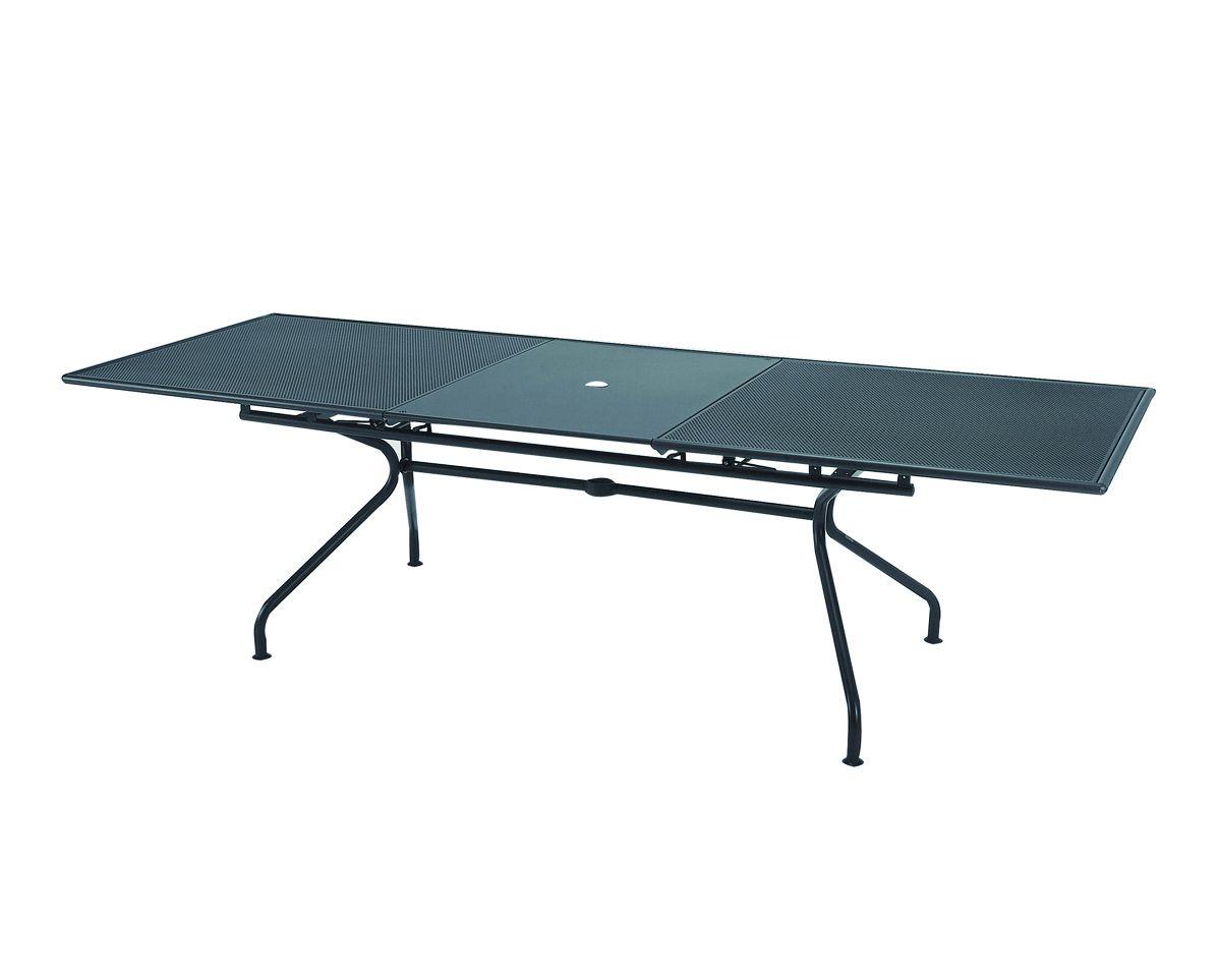 Table De Jardin Extensible Emu ~  jardin extensible en acier ATHENA  Table de jardin extensible  EMU