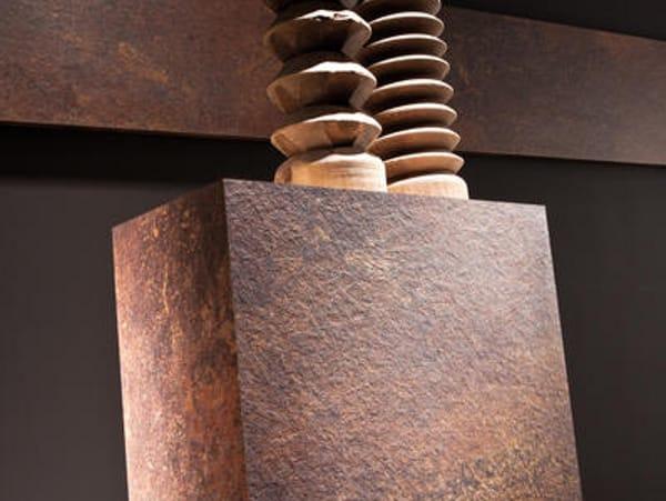 rev tement mural en stratifi effet m tal metallic by polyrey. Black Bedroom Furniture Sets. Home Design Ideas
