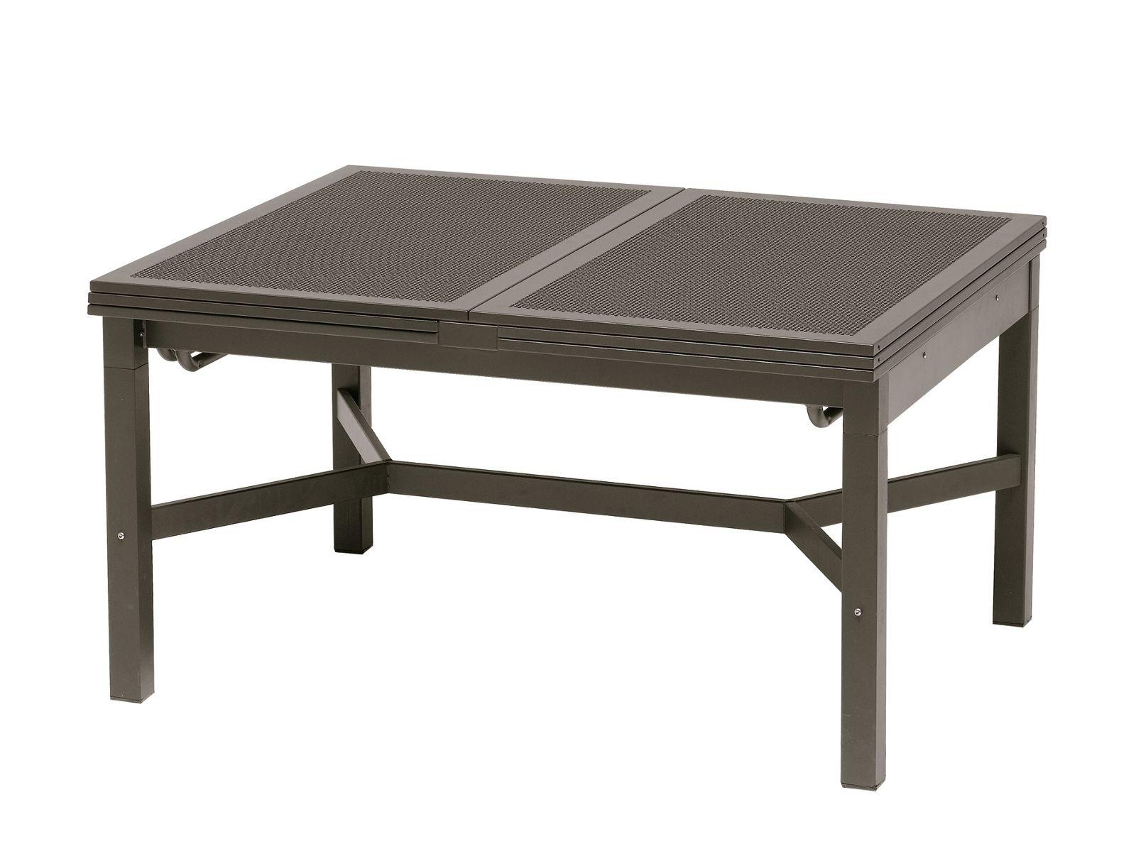 ausziehbarer tisch aus stahl mito ausziehbarer. Black Bedroom Furniture Sets. Home Design Ideas