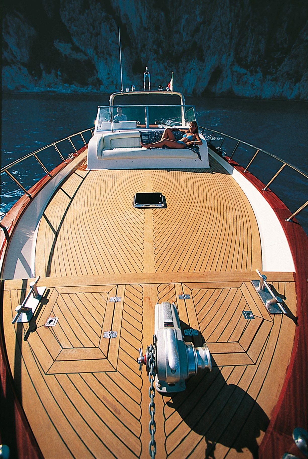 Wooden decking for boats teak superdecking by bellotti