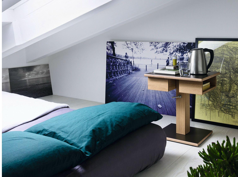 Table de nuit carr e en bois massif nuit table de nuit for Mini table de nuit