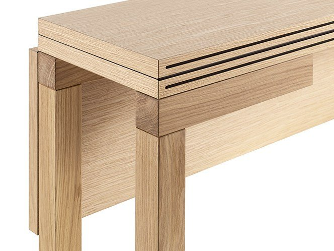 Table Console Chene