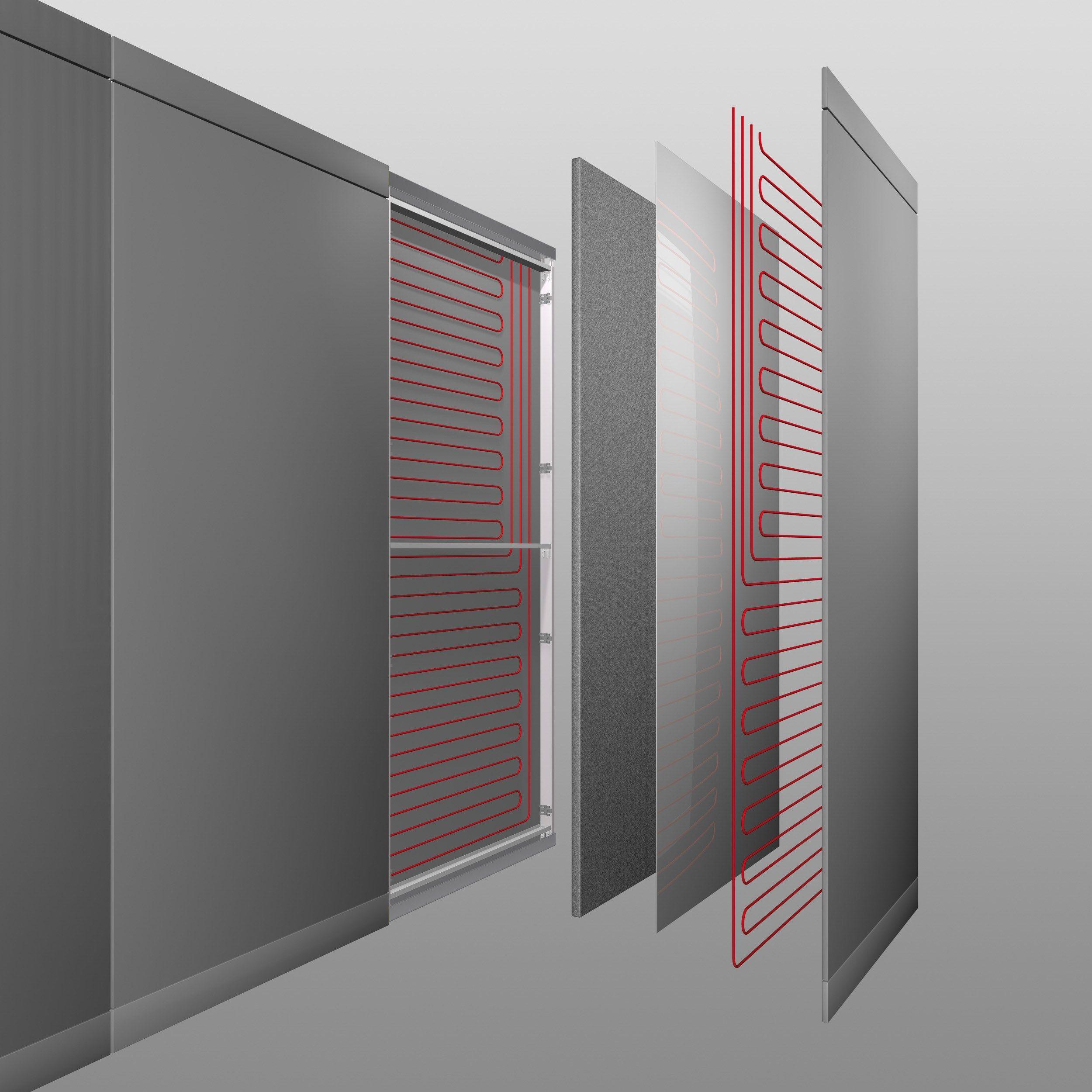 Wall Panel Radiant Wall Panels