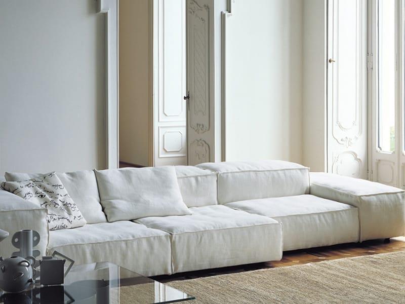 modular sofa extrasoft by living divani design piero lissoni. Black Bedroom Furniture Sets. Home Design Ideas