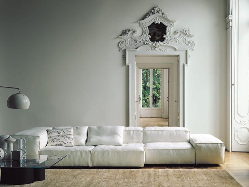 Divano modulare extrasoft by living divani design piero lissoni - Divano modulare economico ...