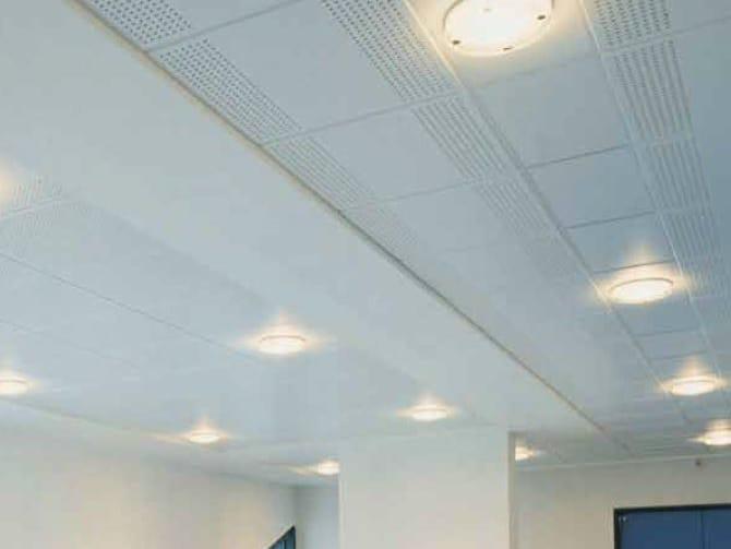 Faux plafond en placo gyptone activ air quattro 22 by for Faux plafond gyptone