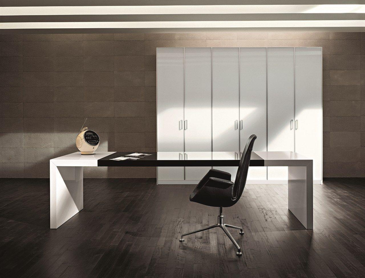 Scrivania direzionale collezione kyo by martex design for Scrivania design