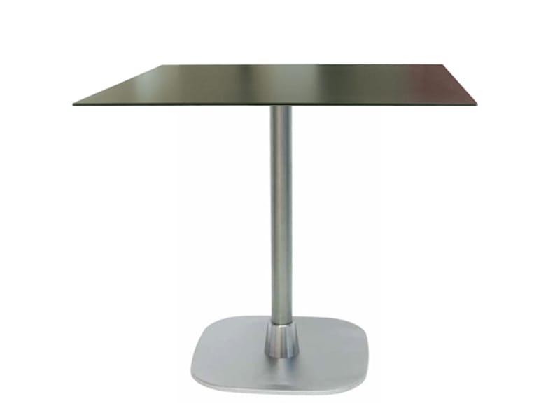 Table en acier inoxydable rift by vela arredamenti design - Table en acier inoxydable ...