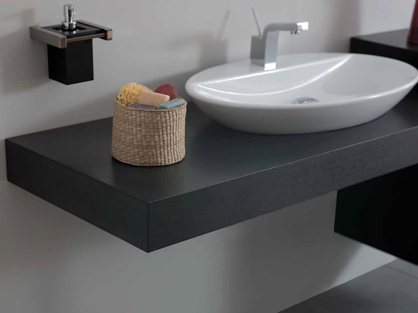 Imagens de #826749 Bancada de lavatório de madeira SYSTEM Bancada de lavatório de  1432x1074 px 3384 Bloco Cad Lavatório Banheiro