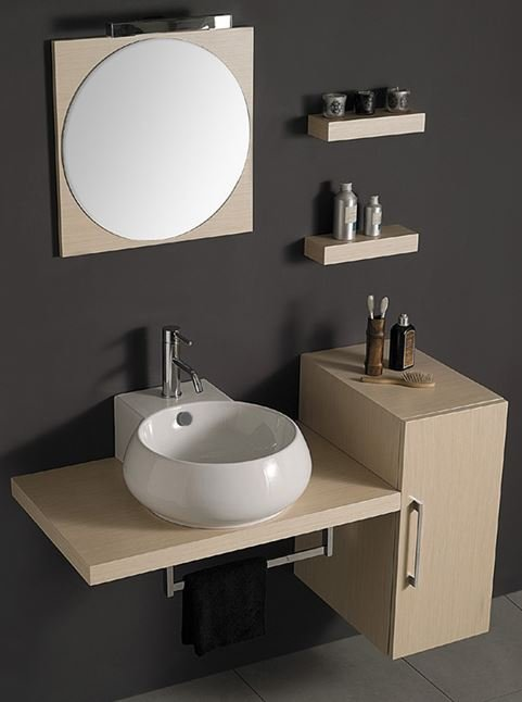 plan de toilette en bois collection system by la bottega di mastro fiore. Black Bedroom Furniture Sets. Home Design Ideas