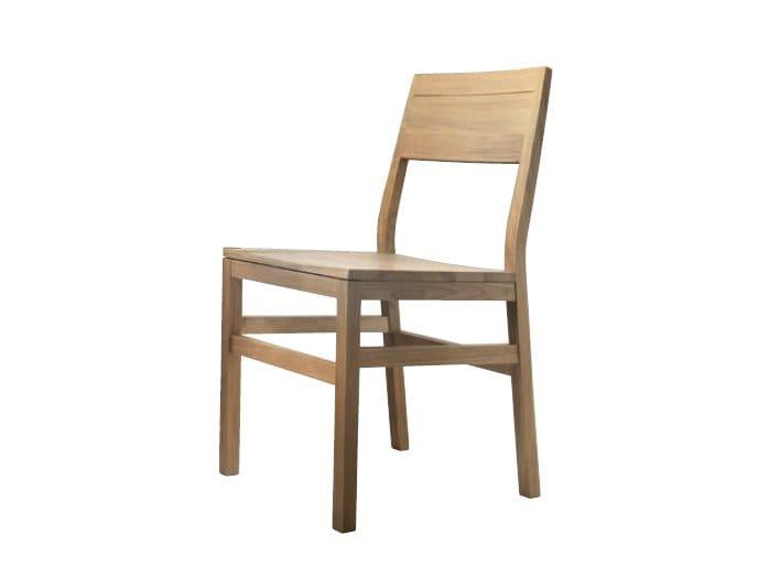 Garda sedia in legno massello by domus arte for Sedie in legno massello prezzi