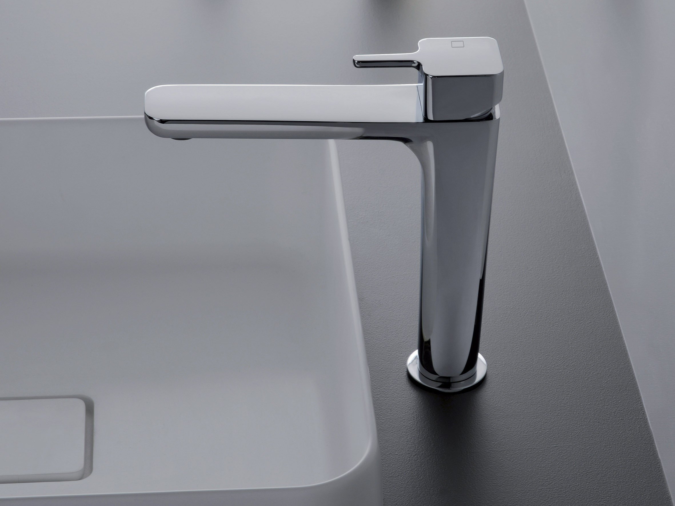 King miscelatore per lavabo by cristina rubinetterie design mc2 architetti associati - Rubinetteria lavabo bagno ...