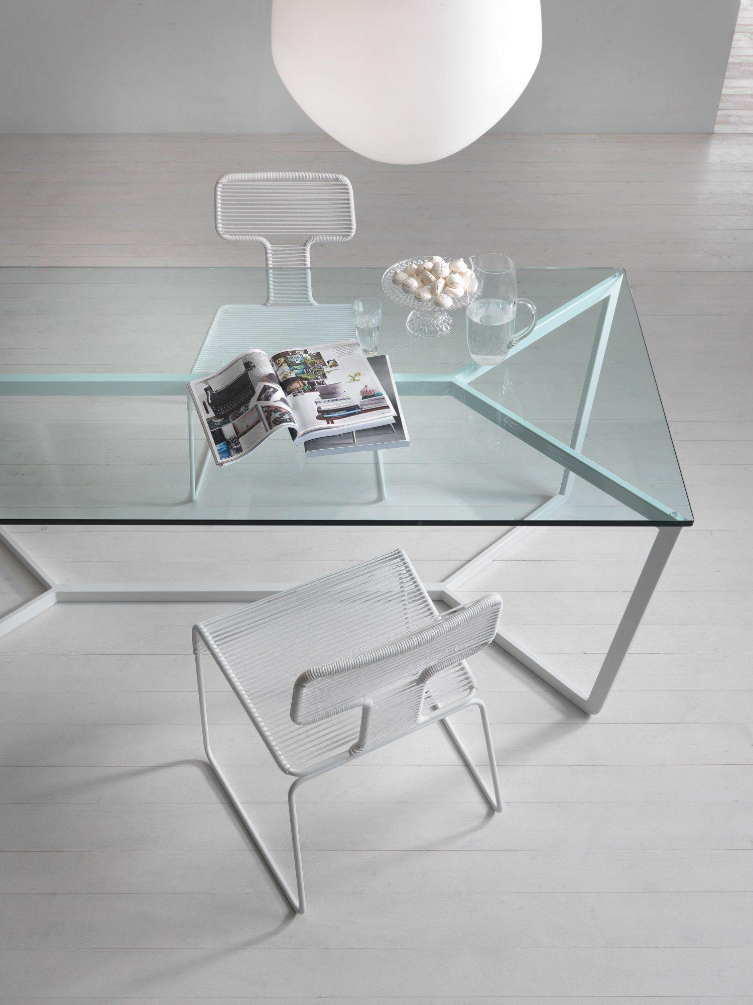 Mesa de comedor rectangular barata de cristal templado - Mesa de comedor cristal ...