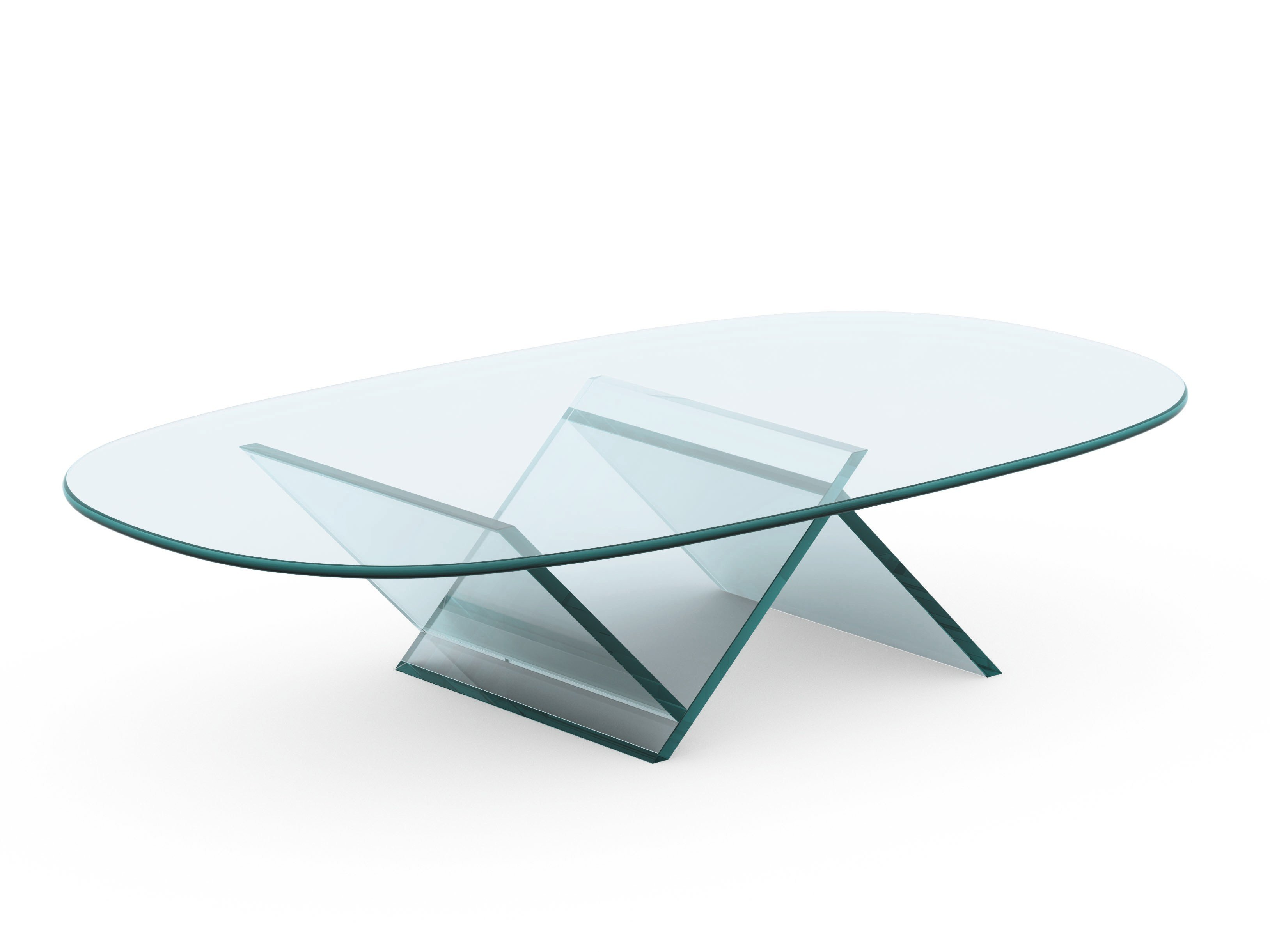 Table basse verre design for Table basse verre design