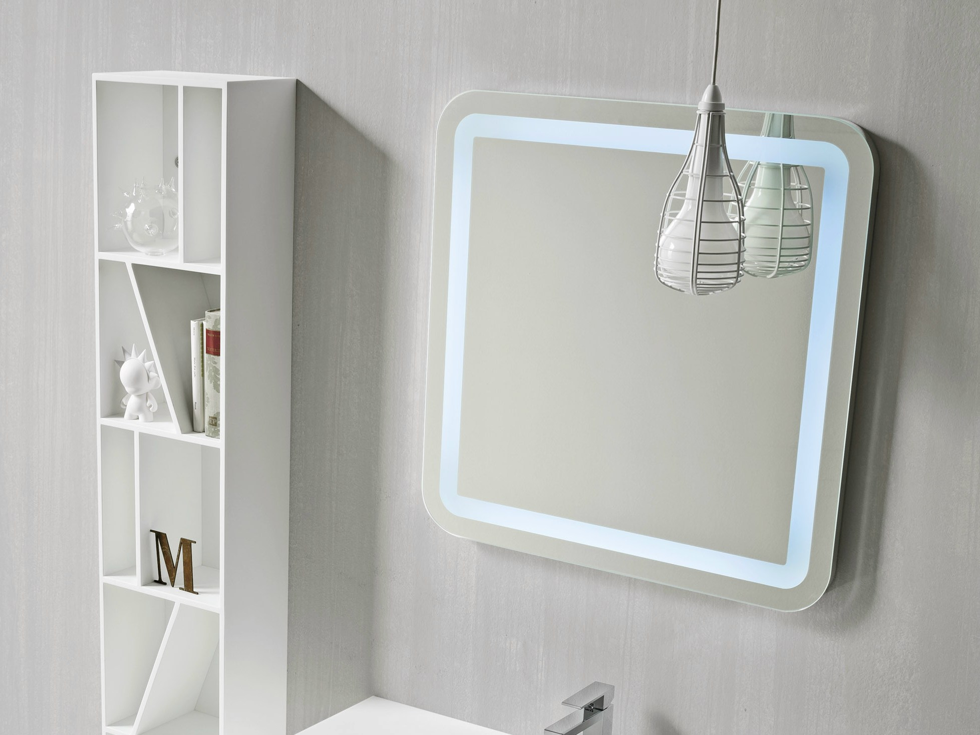 Specchio bagno collezione giano by rexa design - Specchio bagno design ...