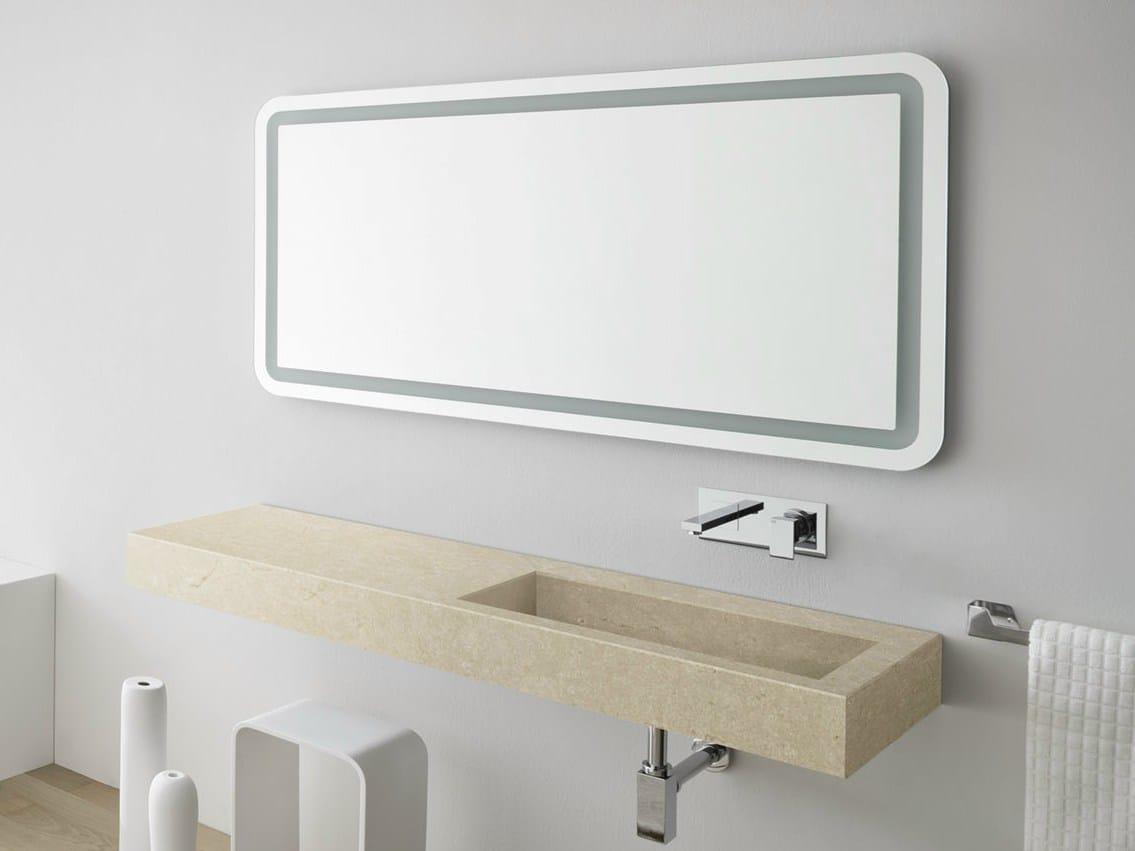Specchio bagno collezione giano by rexa design for Specchio design bagno