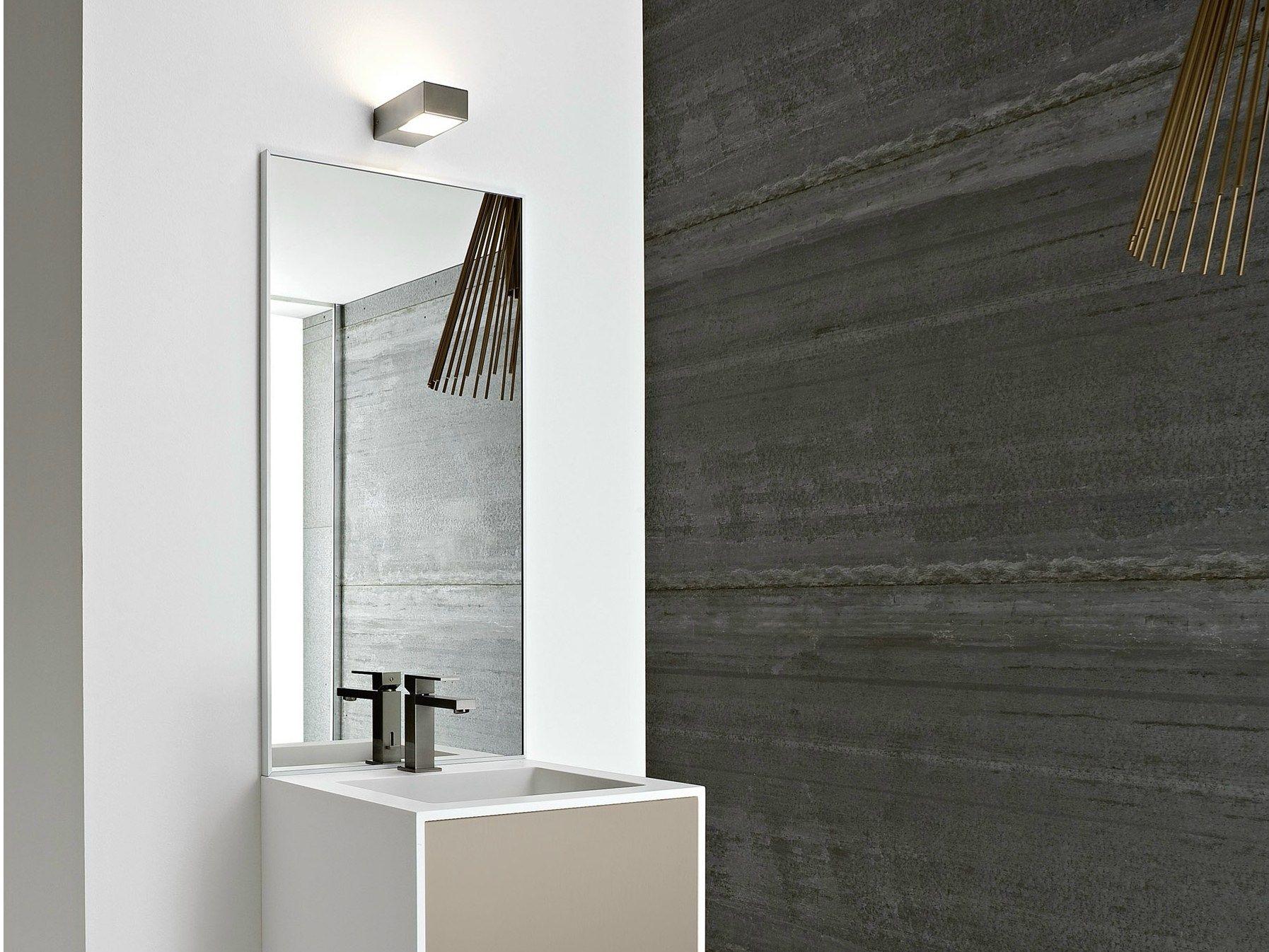 Unico specchio bagno by rexa design - Specchio bagno design ...