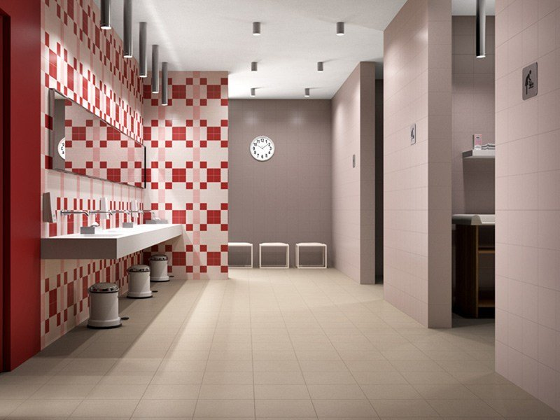 Glazed stoneware wall floor tiles tint by cooperativa for Imola carrelage