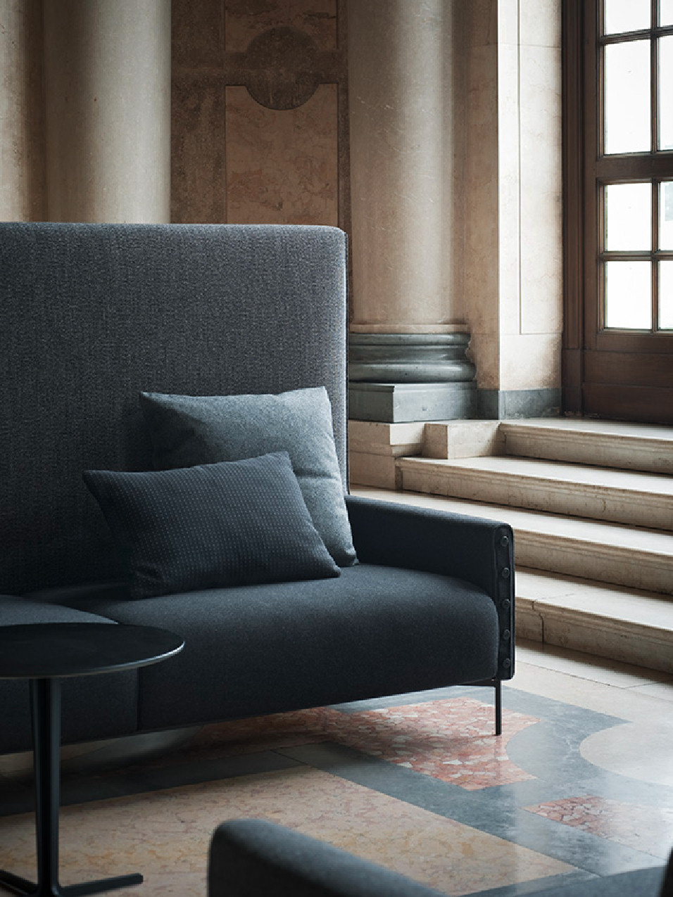 highlife sofa by tacchini italia forniture design claesson koivisto rune. Black Bedroom Furniture Sets. Home Design Ideas
