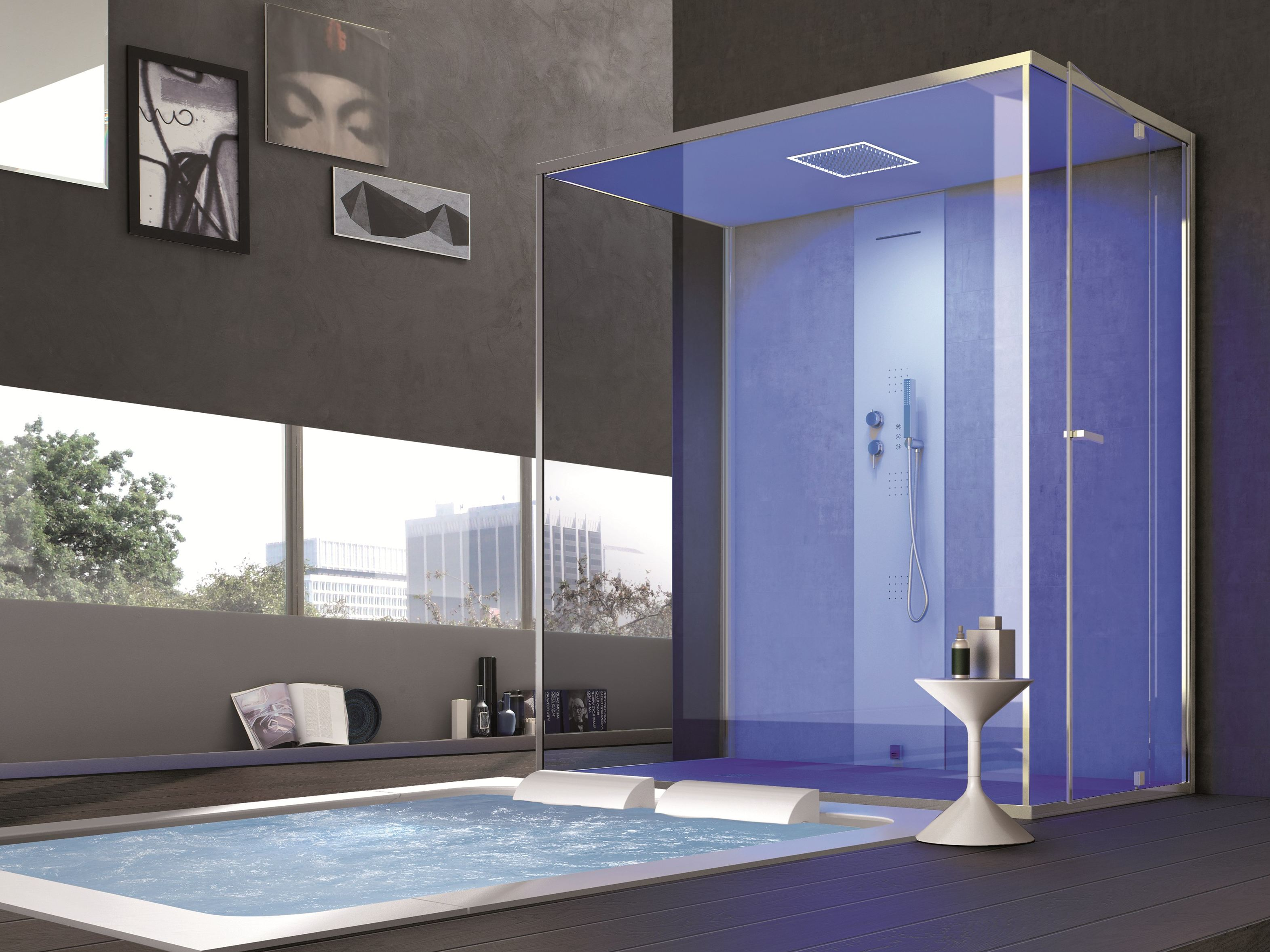Turkish Bath For Chromotherapy Gemini By Hafro Design