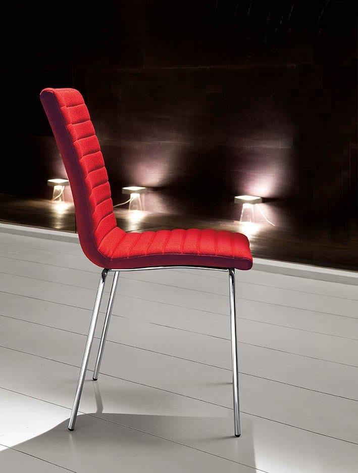 upholstered high back chair krono by midj design r d. Black Bedroom Furniture Sets. Home Design Ideas