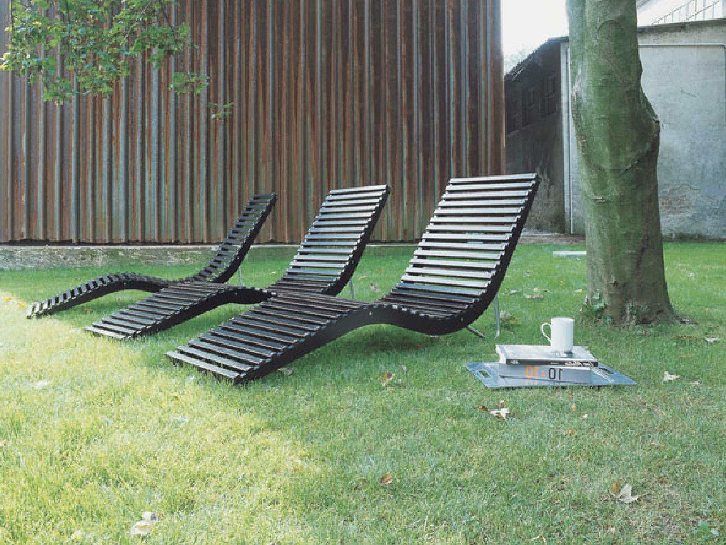 Lettino da giardino in betulla slalom outdoor tacchini for Outdoor giardino