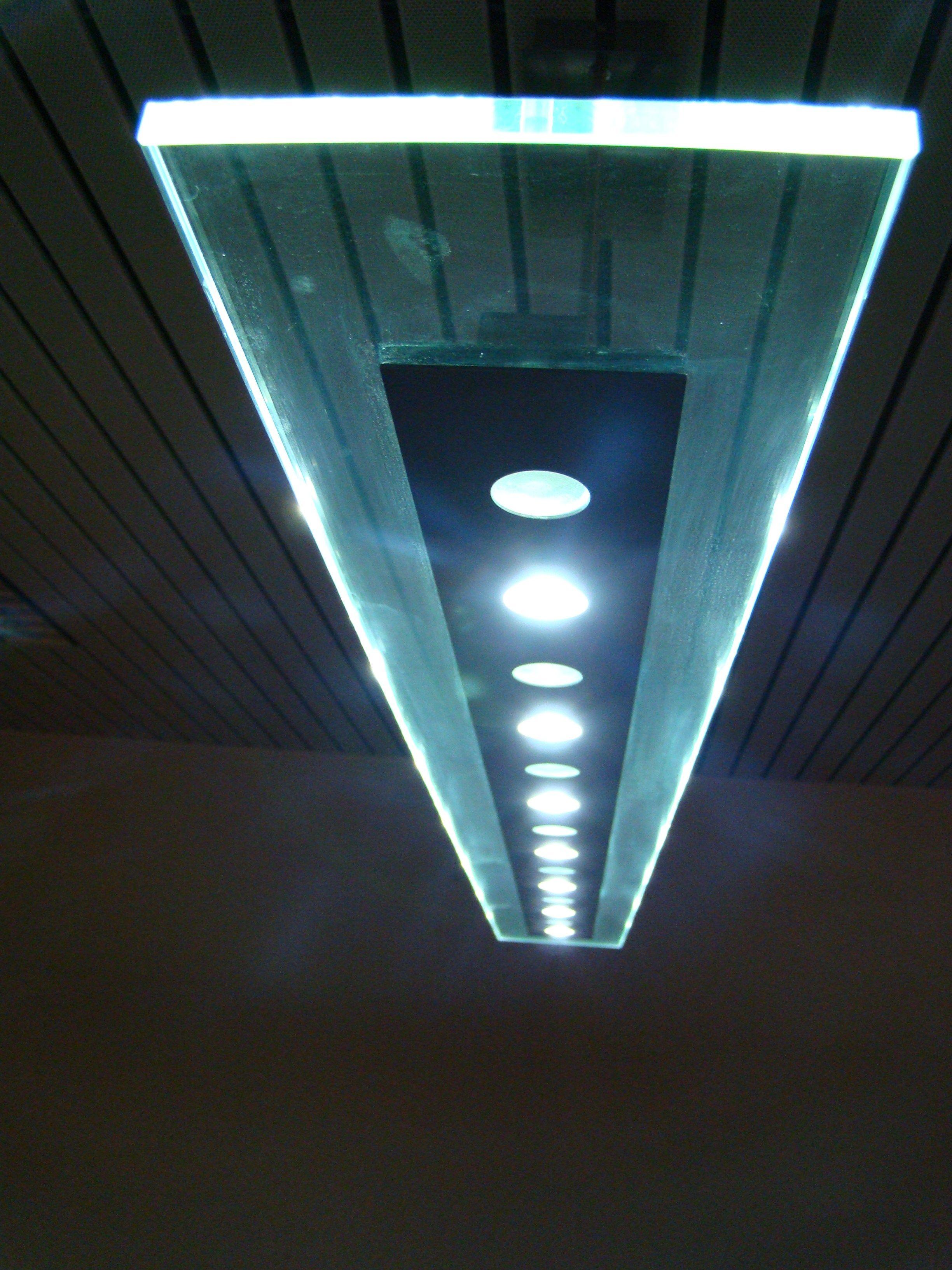 Led Adjustable Glass Pendant Lamp Fusion Led Light System