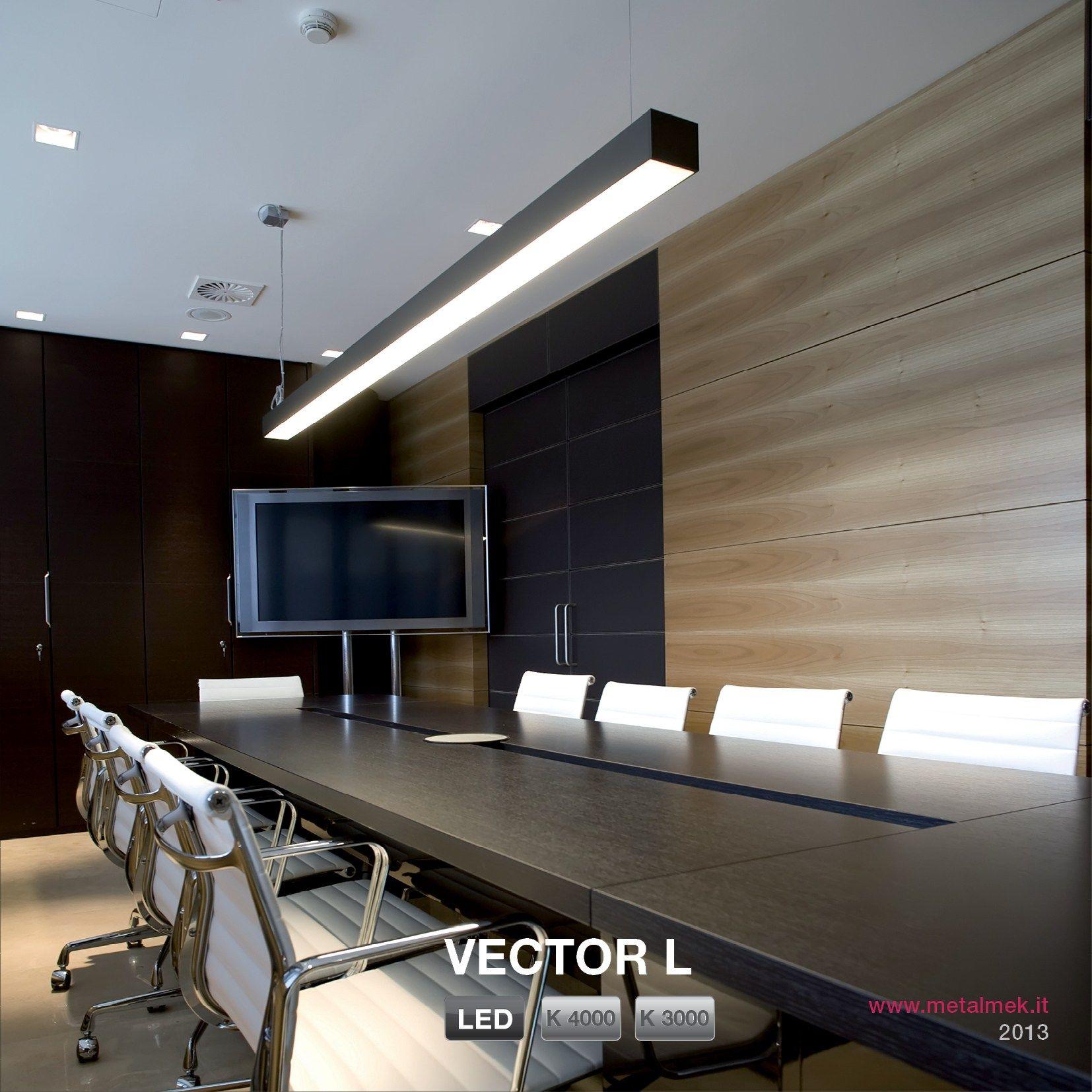Lumin ria pendente led de alum nio design com luz direta - Catalogo de luminarias para interiores ...
