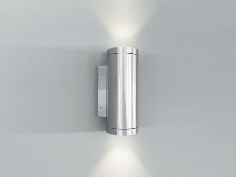 L mpara de pared led con luz directa indirecta bellatrix - Luz indirecta led ...