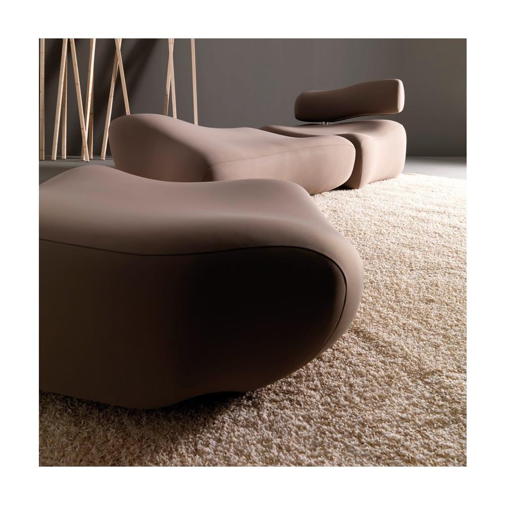 Pouf Dormeuse Morfo : Morfo armchair by esedra prospettive design fabrizio batoni