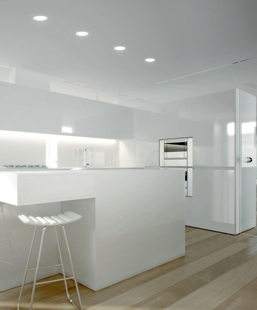 Xgr1027 foco de techo by panzeri - Focos led techo cocina ...