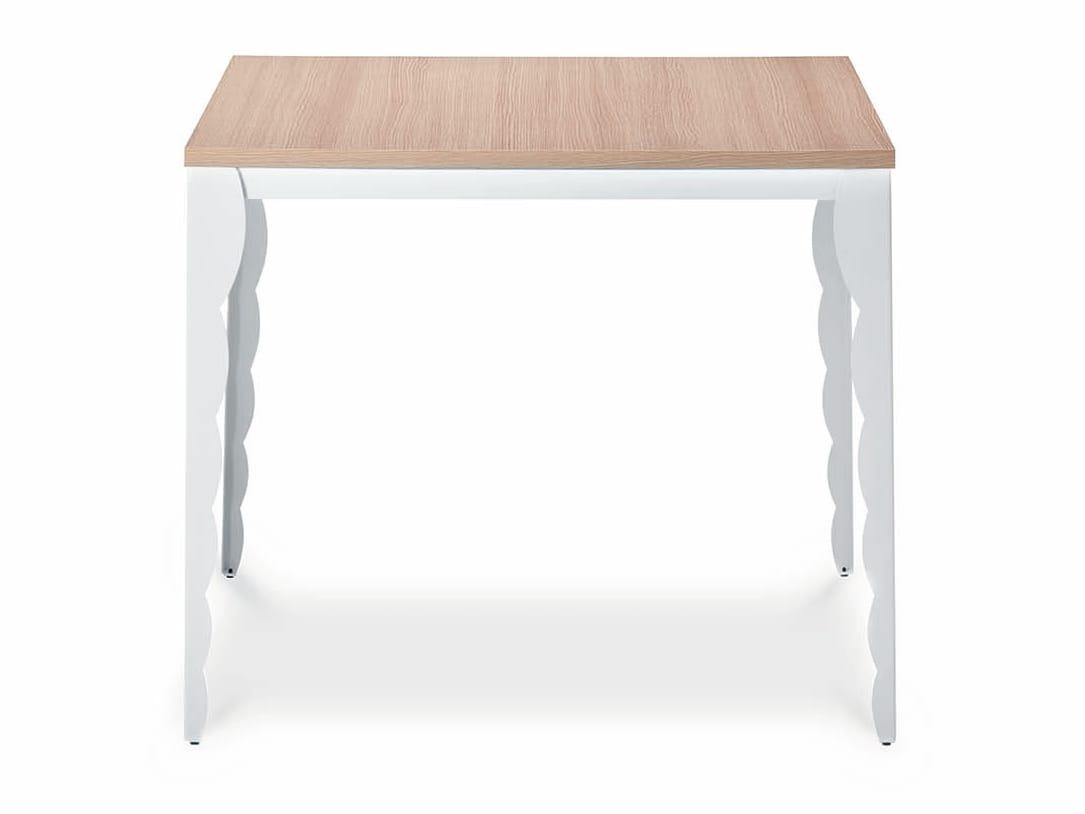 tavolo quadrato barocco by midj design r d. Black Bedroom Furniture Sets. Home Design Ideas