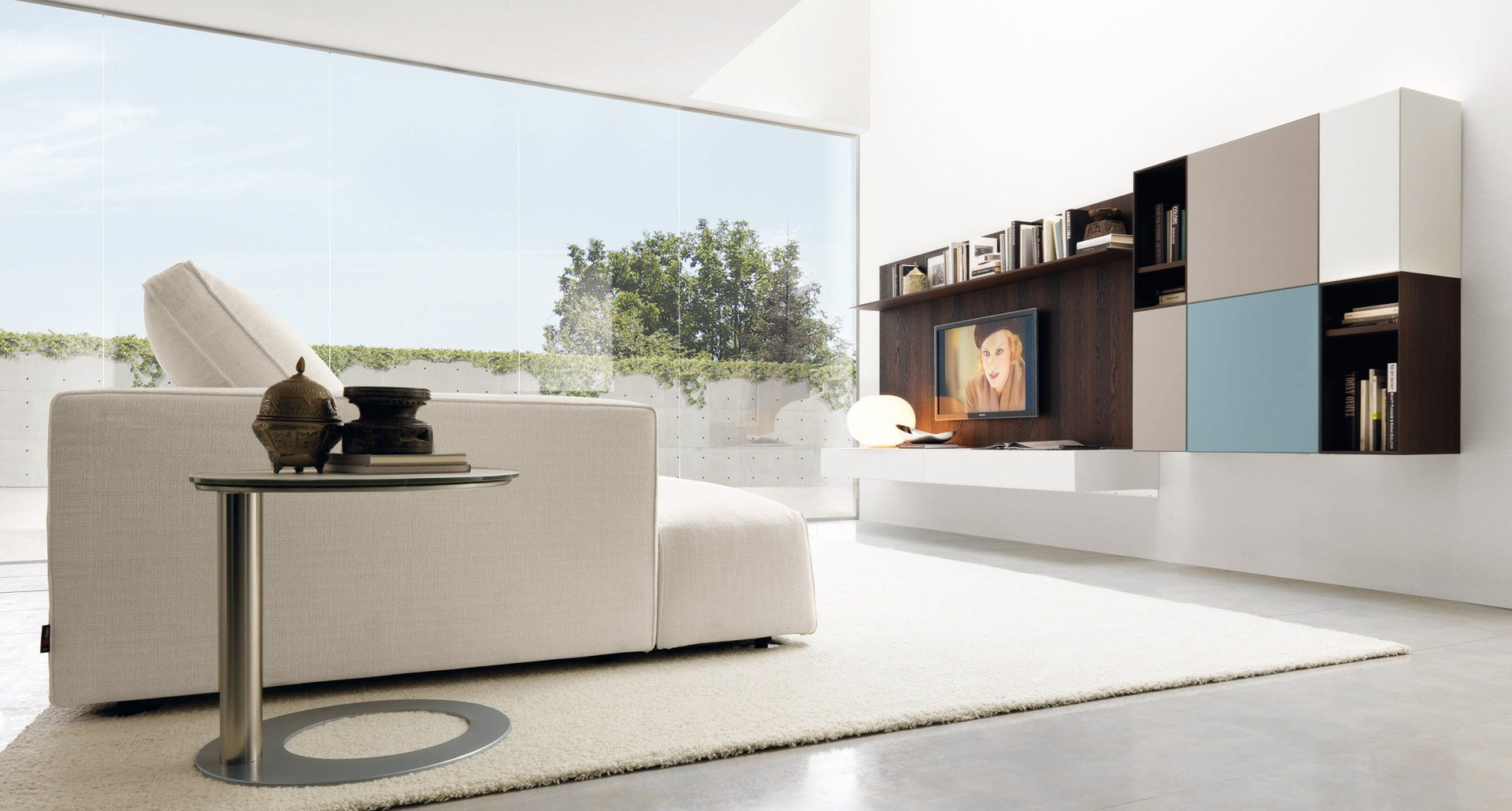 Lampadari in cristallo moderni for Pensili ikea soggiorno