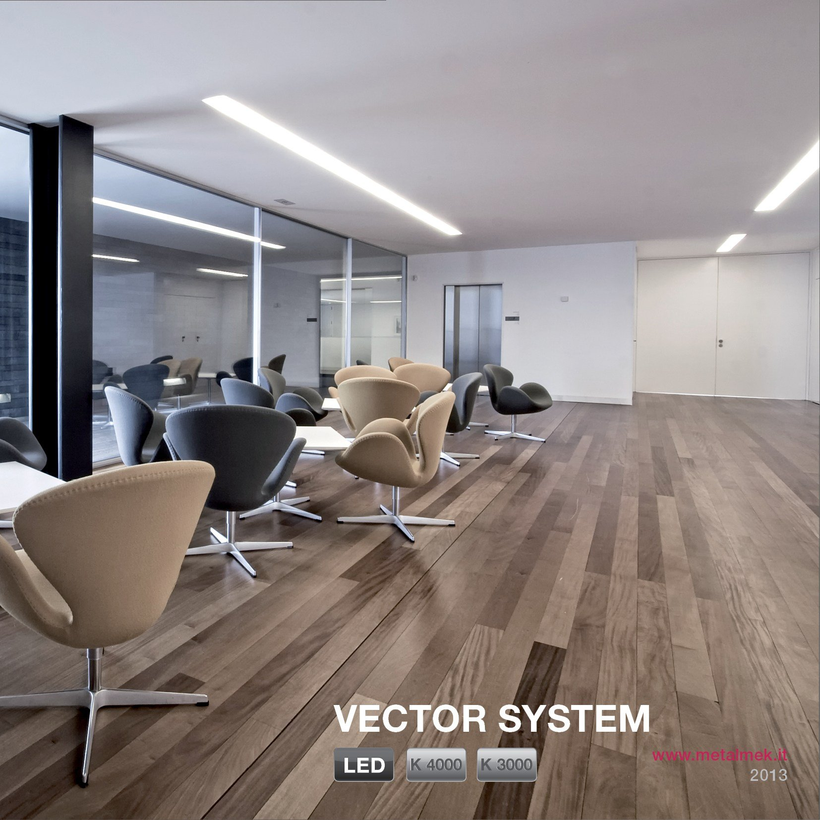 VECTOR SYSTEM Linear LED light bar by METALMEK ILLUMINAZIONE design METALMEK ILLUMINAZIONE