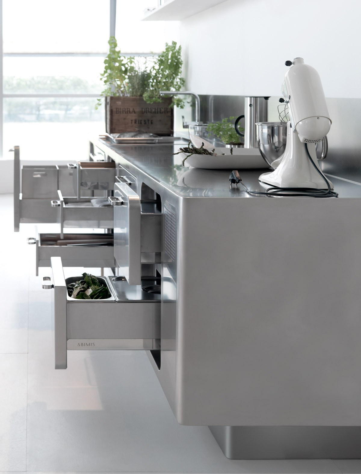 Professional Stainless Steel Kitchen Ego By Abimis Is A