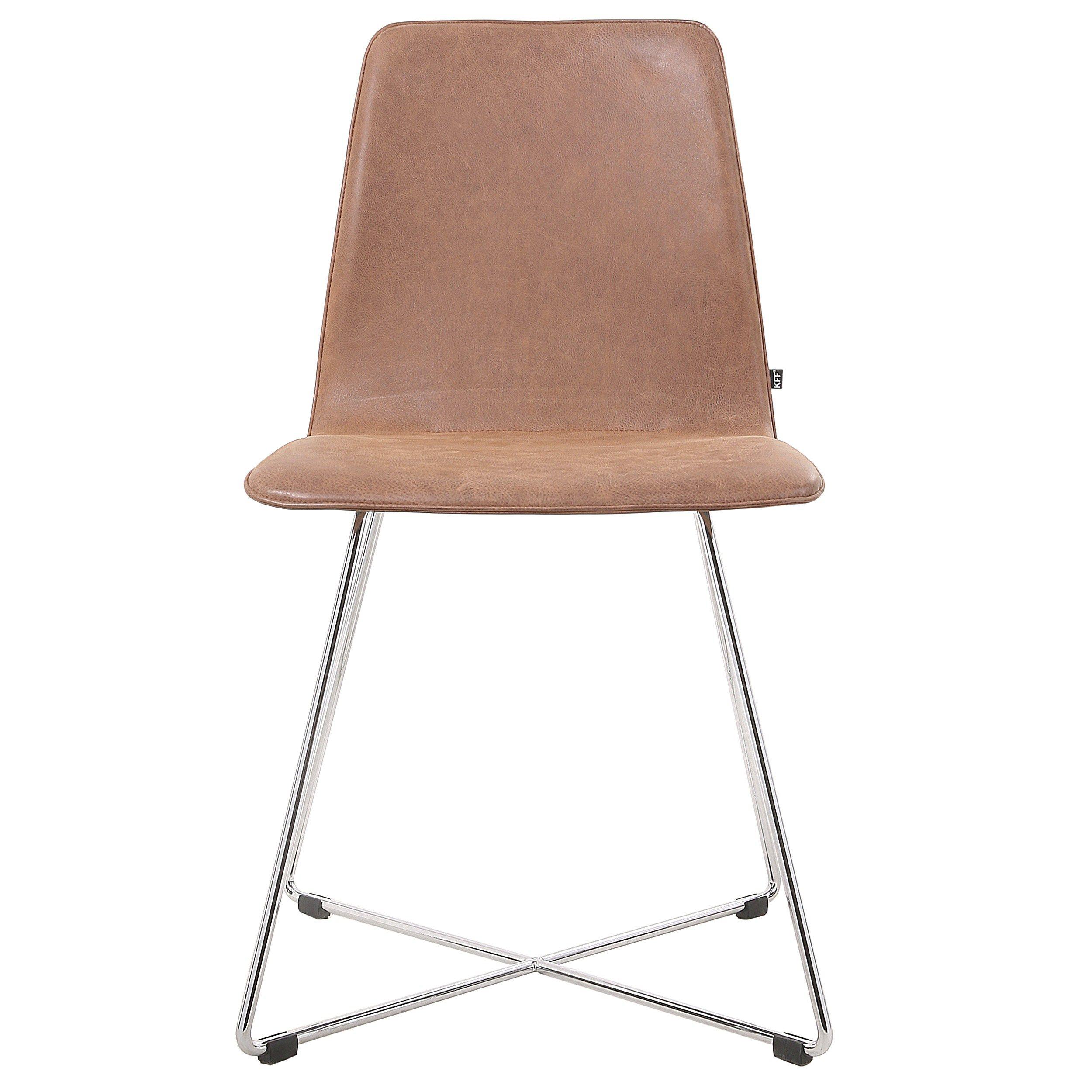 maverick stuhl aus leder by kff design birgit hoffmann. Black Bedroom Furniture Sets. Home Design Ideas