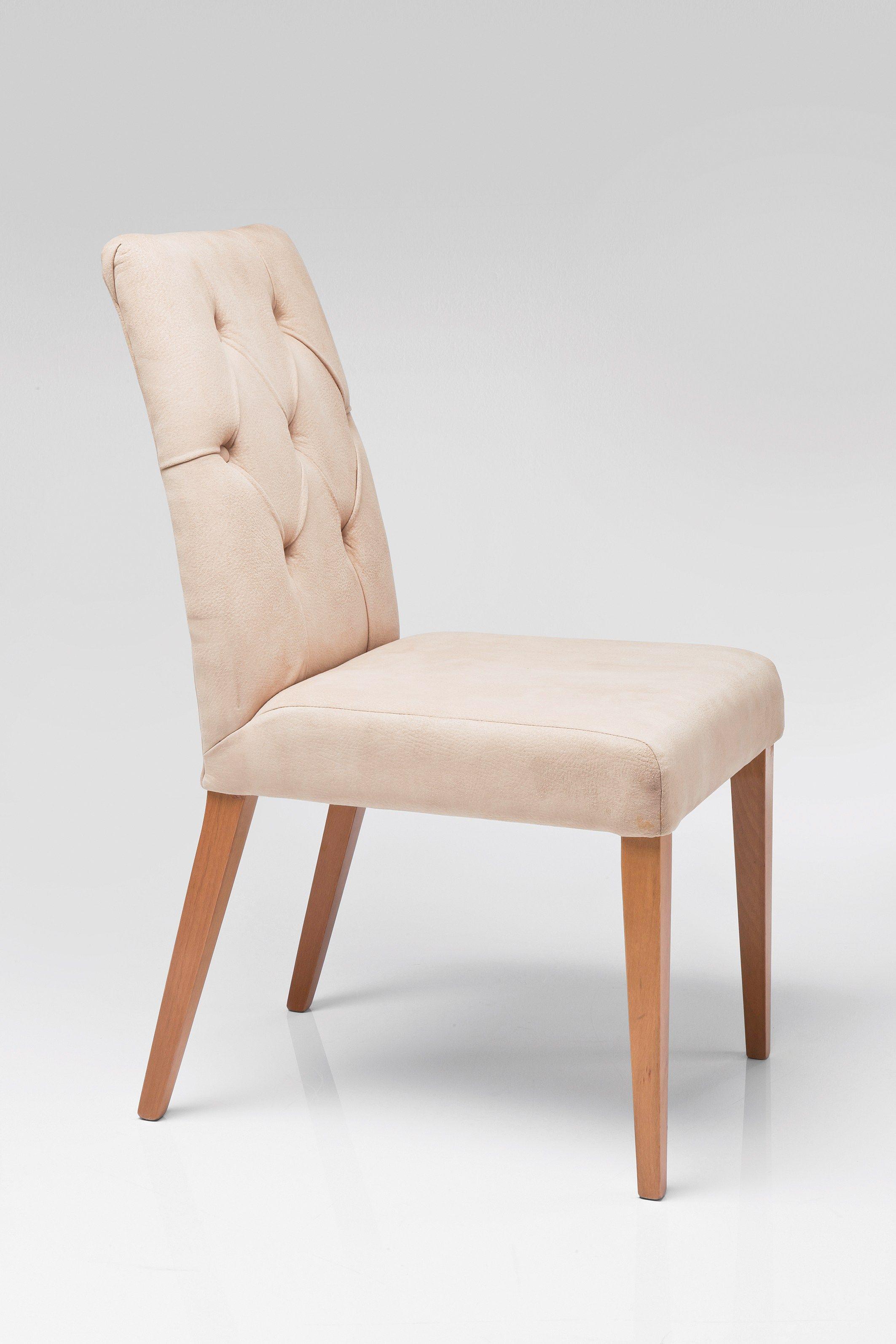 chaise capitonn e de style contemporain casual buttons by kare design. Black Bedroom Furniture Sets. Home Design Ideas
