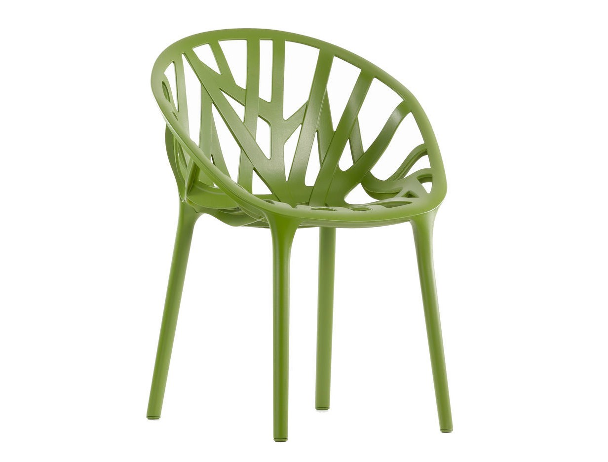 Stackable plastic chair vegetal by vitra design ronan erwan bouroullec - Chaise vegetal vitra ...