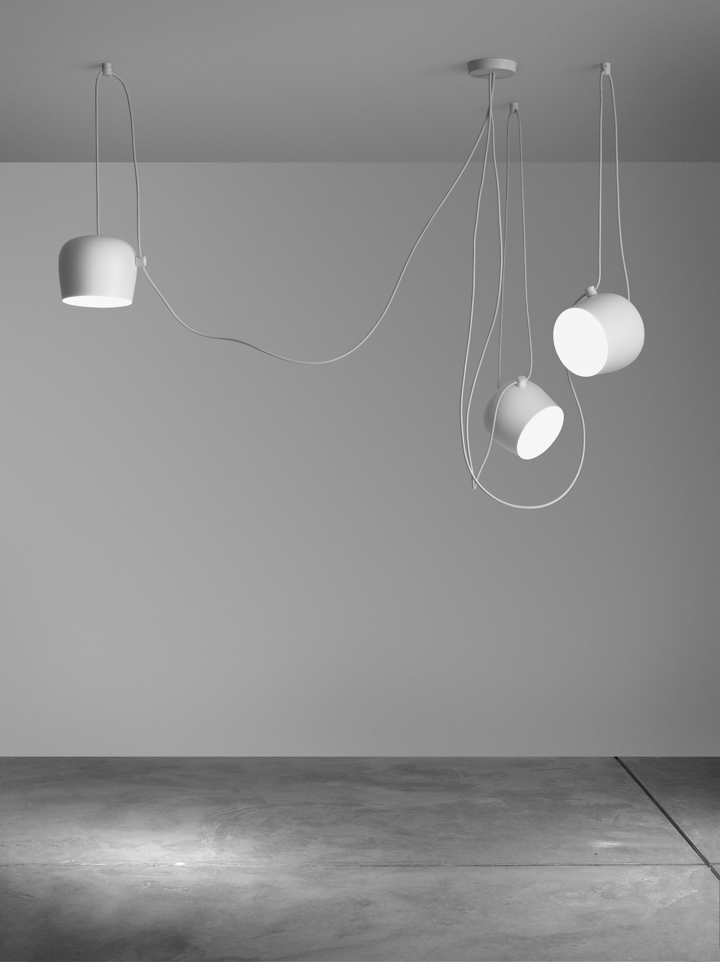Aim by flos design ronan erwan bouroullec for Flos lampade a sospensione