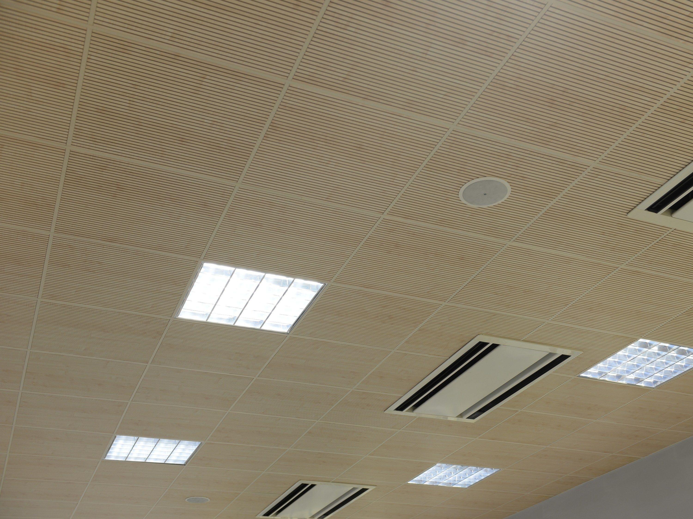Falso techo fonoabsorbente soundless modular by itp - Falso techo modular ...