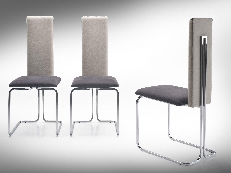 Sedia imbottita con schienale alto linda by f lli orsenigo for Sedia design schienale alto