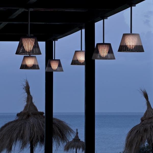 Lámpara colgante romeo outdoor c1 by flos diseño philippe starck