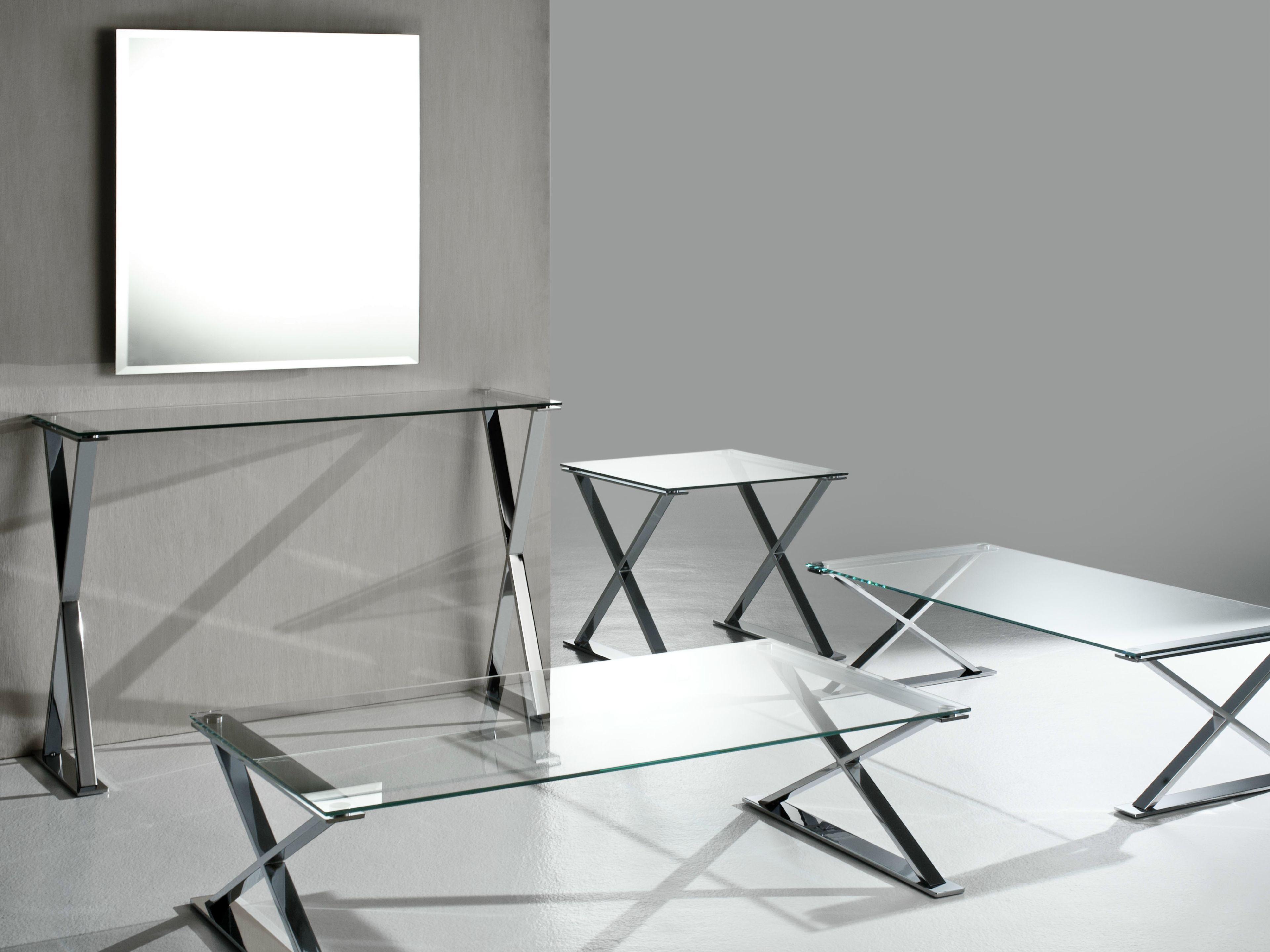Tavolo pranzo in vetro: jean tondo tavolo da pranzo in vetro e ...